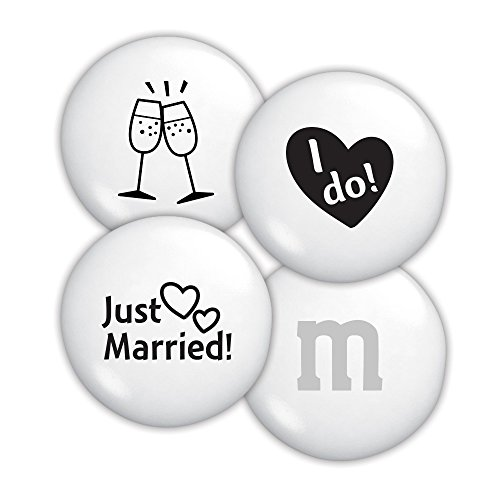 Just Married Custom M&M'S 2lb Bulk Candy Bag