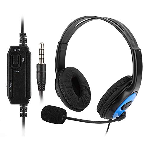 Tgoon Gaming Headset, Vivid Surround Sound 1.2m Made of Abs A4 for Ps4/x-one