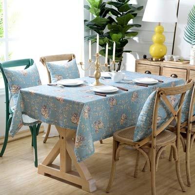 XXDD Mantel Impermeable y Anti-escaldado Rectangular decoración de Boda Mantel Fiesta hogar Cocina decoración A5 135x200cm