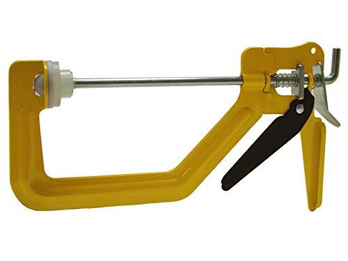 Roughneck 38010 - Morsetto a serraggio rapido, per uso con una sola mano, 15 cm