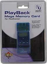 New Playstation 1 PS1 PSX MEGA 360 BLOCK MEMORY CARD 24