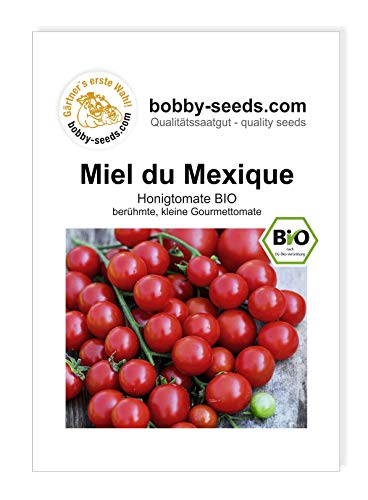 Miel du Mexique BIO Tomatensamen von Bobby-Seeds Portion
