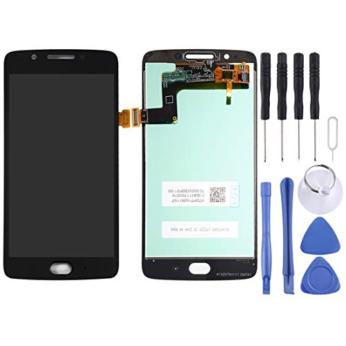 Motorola-Touchscreen LCD Screen und Digitizer Full Assembly for Motorola Moto G5 (Schwarz) (Color : Black)
