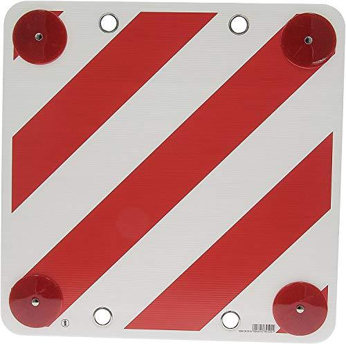 TLDSHOP® - Cartello segnaletico - CARICO SPORGENTE - 50x50 cm - in PLASTICA - PZ 1