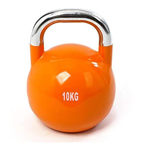 Yajun Kettlebell Gewichte Kugelhantel Heben Hantel Stahl Krafttraining für Workout Yoga Männer Frauen Sport Fitnessgeräte 4 kg 6 kg 8 kg 10 kg 12 kg,4KG