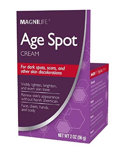 MagniLife Botanical Formula Age Spot Diminishing Younger Skin Beauty Cream by MagniLifeNet wt. 2 oz.