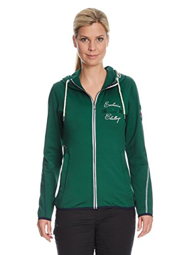 Northland Professional Damen Funktionsjacke Pro Str Trisha Kapuzen, Bottle Green, 46, 02-06464