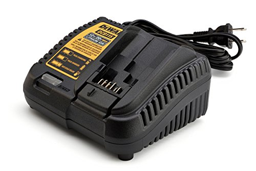 DEWALT DCB115 MAX Lithium Ion Battery Charger, 12V-20V, Yellow and Black