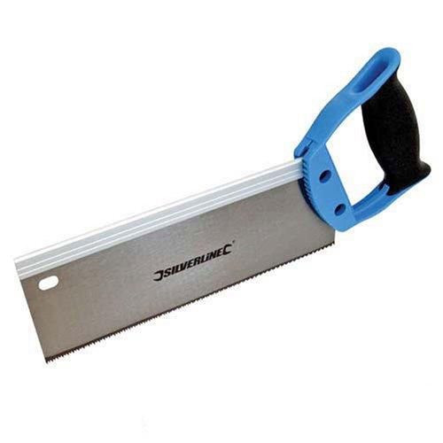 Silverline 763568 - Serrucho de costilla (250 mm 12 dpp)