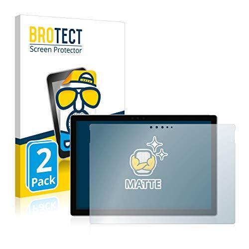 BROTECT 2X Entspiegelungs-Schutzfolie kompatibel mit Microsoft Surface Pro 6 Bildschirmschutz-Folie Matt, Anti-Reflex, Anti-Fingerprint