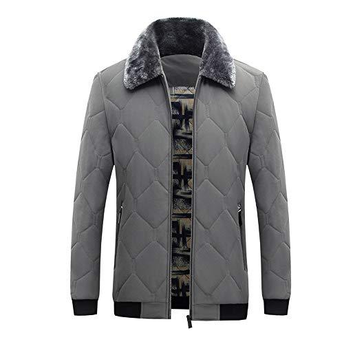 Abrigo de lana caliente para hombre