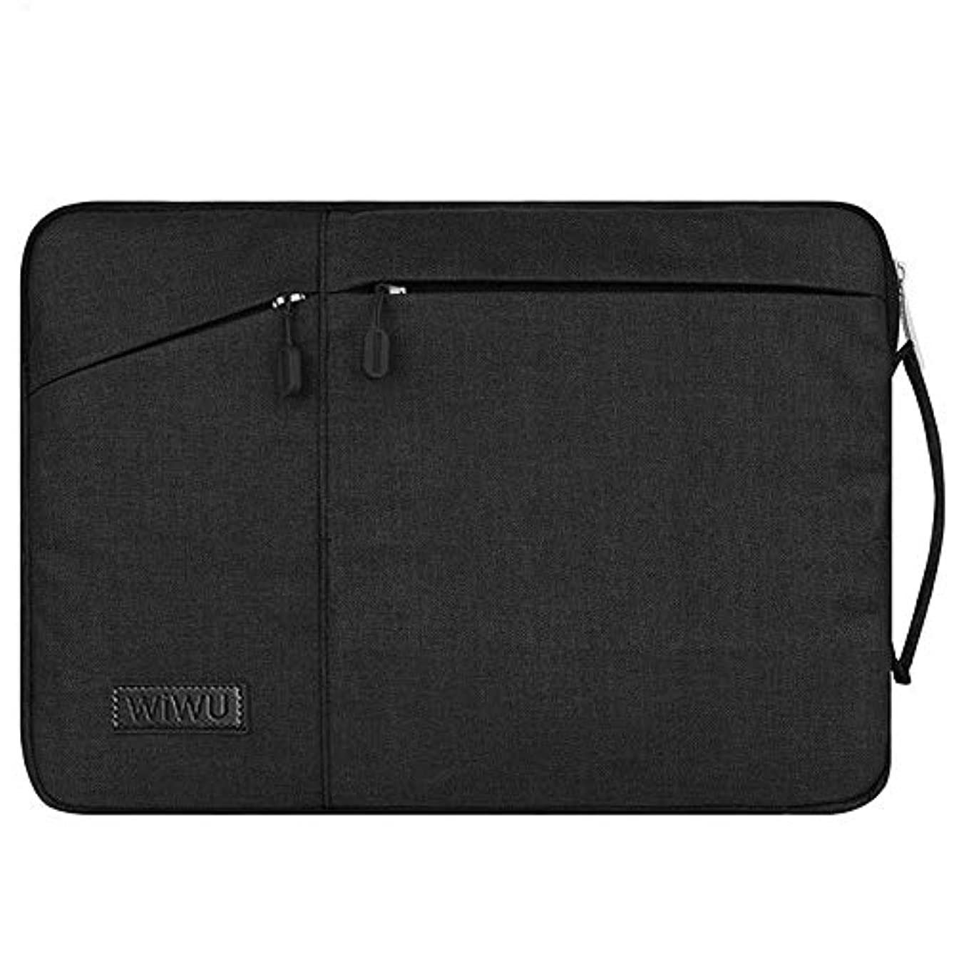 WIWU Laptop Sleeve Bag,Premium Water Resistant Case Cover Shockproof Notebook Handbag for Men Women Compatible for MacBook/Dell / Huawei/HP Fits 15/15.4/15.6 Inch(15