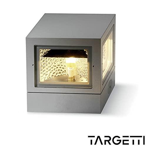 Targetti Q-bo Applique plafonnier extérieur cube 35 W pour extérieur