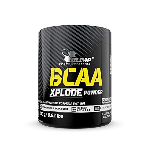 Olimp BCAA Xplode Powder, 280 g Dose (Ice Tea Peach)