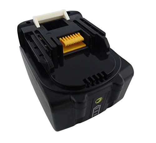 Batería para herramientas 14,4 V ion de litio 5 Ah, 5000 mAh, para Makita BL1430, BL1430B, BL1415, BL1440, BL1450, 195444-8, 196388-5, con luces LED