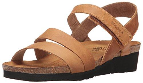 NAOT Footwear Women's Kayla Sandal Oily Dune Nubuck 9 M US