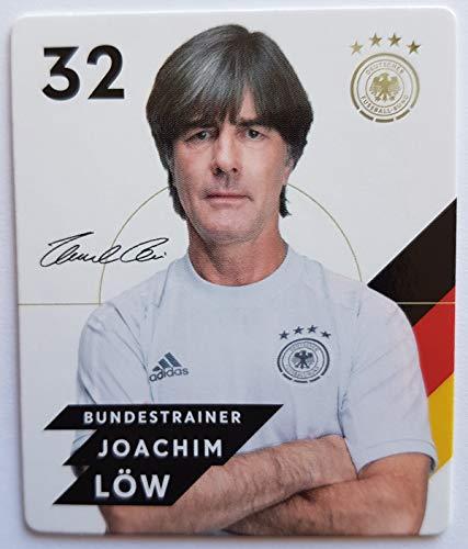 Rewe EM 2020 DFB - Sammelkarten - Normale - Nr. 32 - Joachim Löw - Plus 1 spezielle toysagent Sonderkarte
