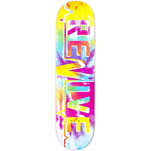 Revive Skateboards Tie Dye Lifeline '18 Deck 8,25