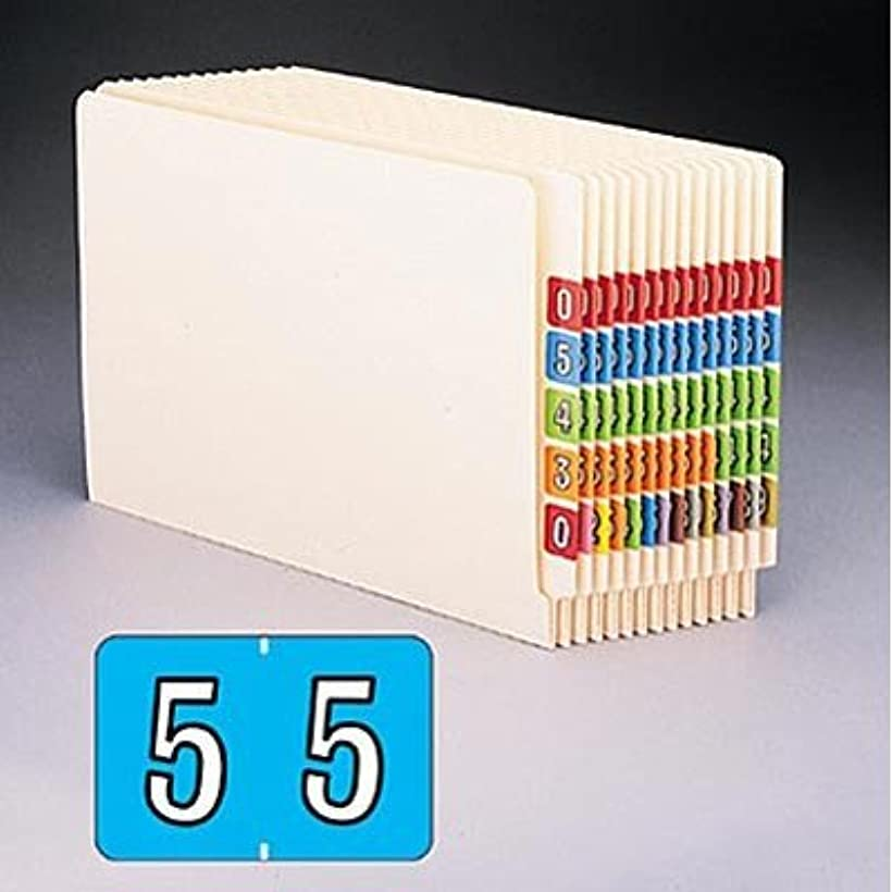 ピストル肝修羅場Smead 66703?–?barkley-compatibleラベル、数3、1?x 1?–?1?/ 2、ダークオレンジ、500?/ロール