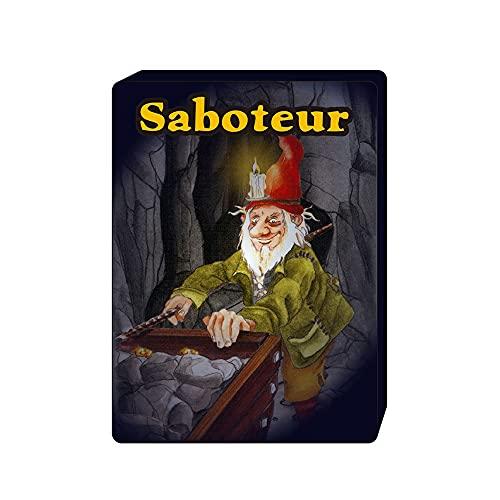 ACGGMR 2021 Saboteur 1 & Saboteur 1 + 2 Juego de Cartas Completo Inglés Jogos de Tabuleiro Dwarf Miner Jeu de New The Duel Board Juego (Color : Saboteur 1)