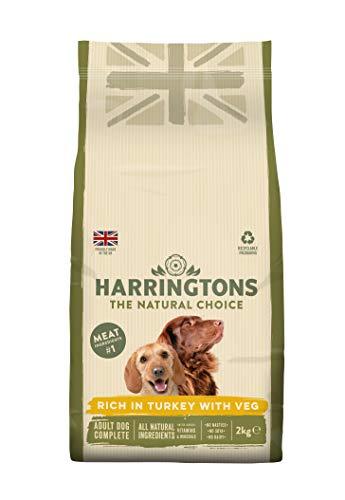 Harrington der Hund Futter komplett Trocken Mix  ( turkey and veg)4 x 2 kg