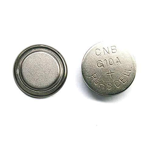 NX - Pile bouton alcaline blister LR1130/LR54 NX - 0% Hg 1.5V 75mAh - Blister(s) x 2