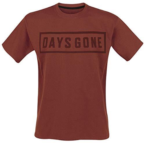 Days Gone Tonal Logo T-Shirt rot L