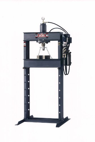 Find Bargain Dake Force 25DA Model Electrically Operated Hydraulic Dura Press, 25 Ton Capacity, 110V...