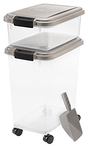 IRIS 3-Piece Airtight Pet Food Container Combo