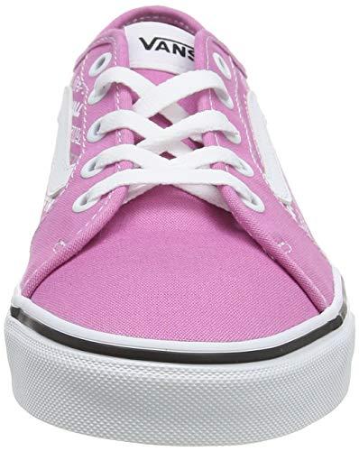 Vans Filmore Decon, Scarpe da Ginnastica Donna, Rosa ((Logo Repeat) Fuchsia Pink/White XXS), 37 EU