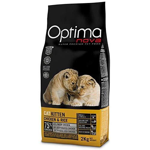 """Optima nova - Pienso para Gatos ã""""ptima Nova Kitten Pollo y arroz"""