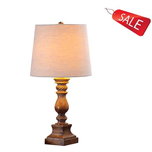 Lampe vintage lampe de chevet de style européen chambre lampe de chevet Lampe moderne simple de village américain idées E27