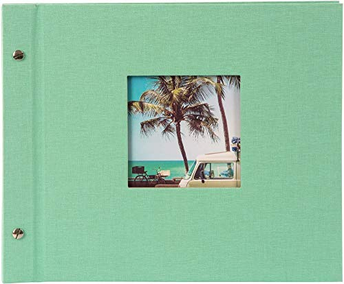 Goldbuch Schraubalbum Bella Vista neo-mint30x25 cm Schwarze Seiten