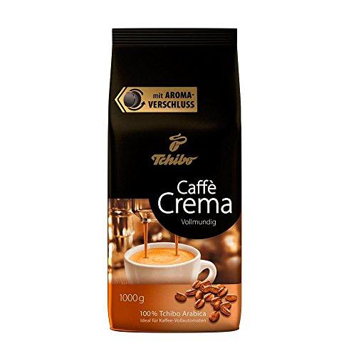Tchibo Caffè Crema Vollmundig ganze Bohne, 1 kg