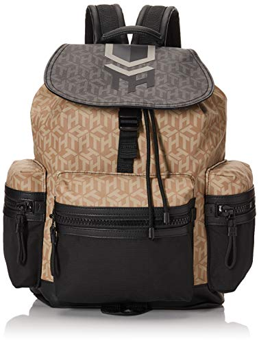 Tommy Hilfiger Hybrid Mix Flap Backpack Nomad Monogram