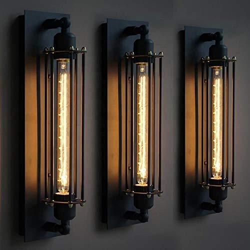 Wandleuchte im Retro Stil, Vintage Wandlampe Industriell Wandleuchter Innen Industrial Wandbeleuchtung