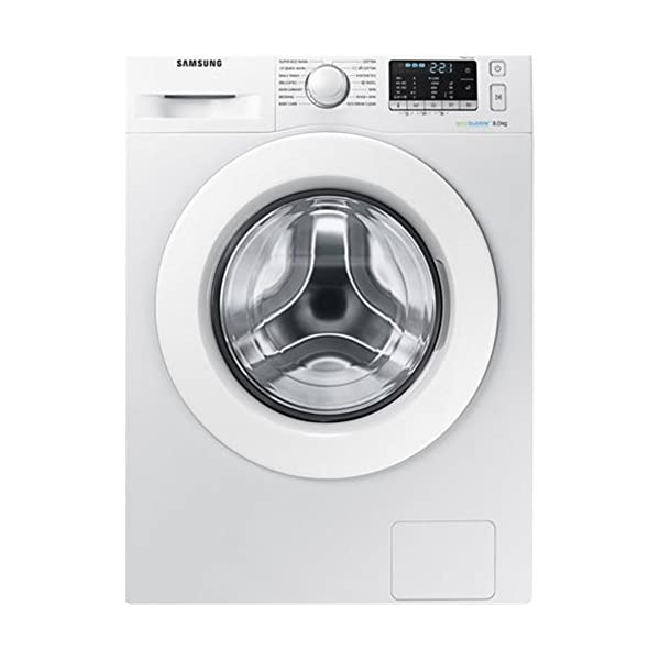 Samsung WW80J5355MW Independiente Carga Delantera 8kg 1200RPM A+++-10% Blanco Lavadora – Lavadora (Independiente, Carga…