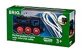 BRIO 33599 Locomotiva Ricaricabile con Mini Cavo USB, BRIO Treni-Vagoni-Veicoli, Età Raccomandata 3+