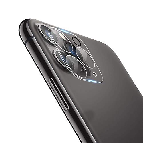 QULLOO Kamera Schutzfolie für iPhone 11 Pro Max/iPhone 11 Pro, [2 Stück] Kristallklar Kamera panzerglas Anti-Kratzen Kameraschutz für iPhone 11 Pro Max/iPhone 11 Pro