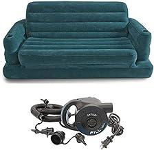 سرير اريكة سحب قابل للنفخ مخصص لشخصين مع مضخة كهربائية سريعة تعمل بجهد 220 فولت، 68566 من انتيكس