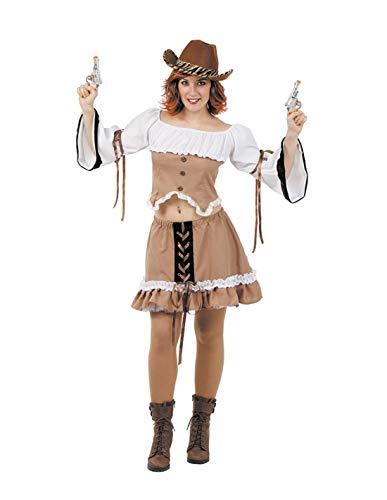 DISBACANAL Disfraz de Vaquera Sexy Mujer - -, M