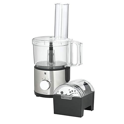 WMF Kult X Edition - Robot de cocina con 5 discos de accesorios, cuchillo para amasar, tapón, cuchillo de acero inoxidable, recipiente de 2,0 l, 500 W