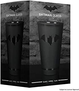 Paladone DC Comics Officially Licensed Merchandise - Batman Drinking Glass Tumbler