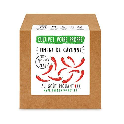 Garden Pocket - Kit de Culture de PIMENT DE CAYENNE