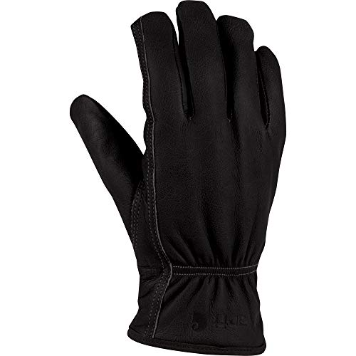 Carhartt Men's Insulated System 5 Driver Work Glove, Black, Medium