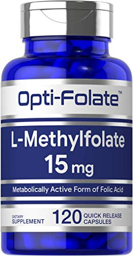 L Methylfolate 15mg | 120 Capsules | Value Size | Max Potency |...