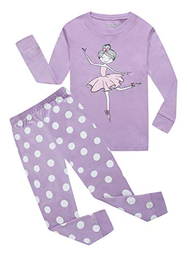 Family Feeling Big Girls Long Sleeve Pajamas Sets 100%...