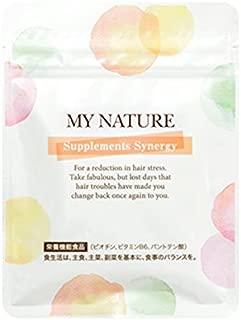マイナチュレ サプリメント シナジー 90粒 女性育毛ケアのための無添加サプリメント育毛 薄毛 抜け毛 頭皮ケア 無添加 ケラチン ビタミン ビオチン パントテン酸