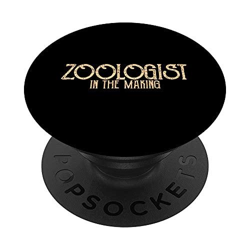 Zoólogo en ciernes Cita divertida de un zoólogo PopSockets PopGrip Intercambiable