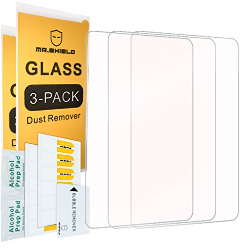 [3-PACK]-Mr.Shield For Sony PS Vita 2000 / Sony PlayStation Vita PSV 2000-Max [Tempered Glass] Screen Protector with Lifetime Replacement
